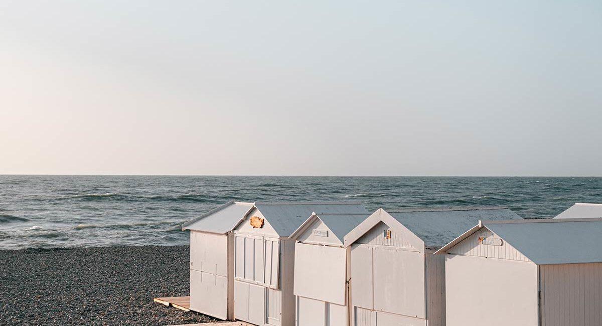 Cabanes sur galets